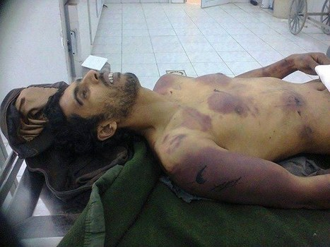 Young Man tortured & Killed by Libya Militias - #HumanRights #NATO #Libya #GNC via FB | Seif al Islam al Gaddafi | Scoop.it