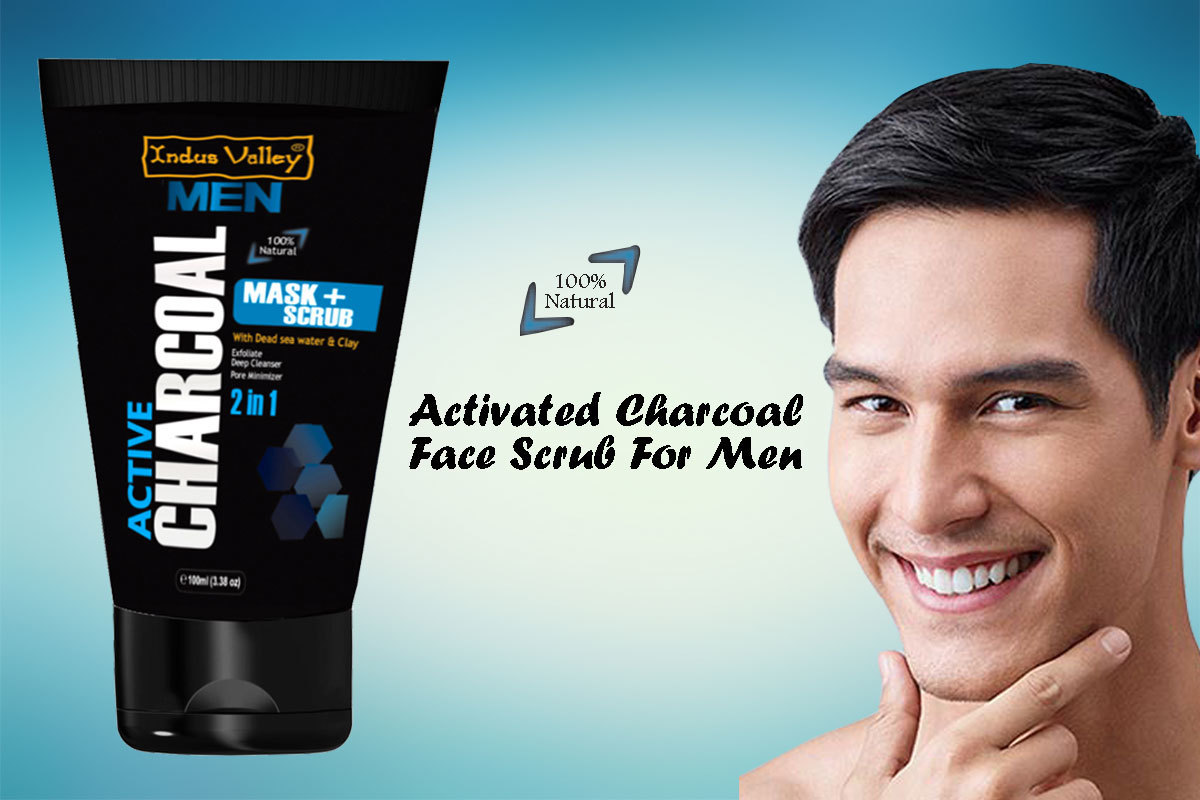 Best Activated Charcoal Face Scrub In India For