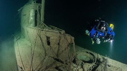 Video: Finnish divers find century-old German sub | ScubaDiving | Scoop.it