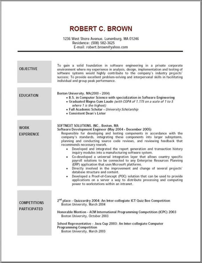 Case studies city planner resume done