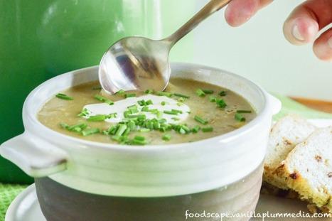 Simple Creamy Potato Leek Soup (Ready in Under 30 Minutes) [Vegan, Gluten-Free] | food&drink | Scoop.it