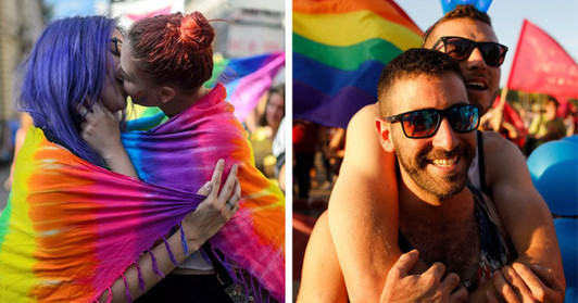 33 Pictures Of LGBT Pride Around The World That'll Make You So Goddamn Proud