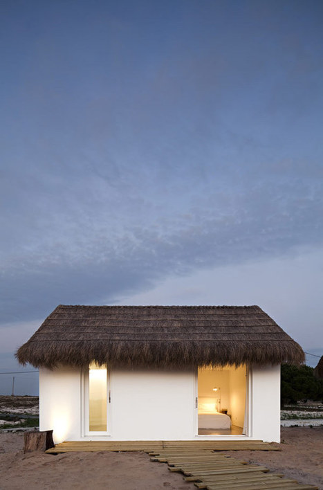 Living in 'An Extension of Nature': CasasNaAreia in Portugal | sustainable architecture | Scoop.it