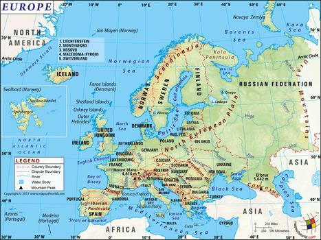 European Map With Major Cities.Major Cities In Europe In Maps Scoop It