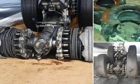 Lufthansa plane bursts 4 tyres at landing and gets stranded for 22hrs | AIR CHARTER NEWS | Scoop.it
