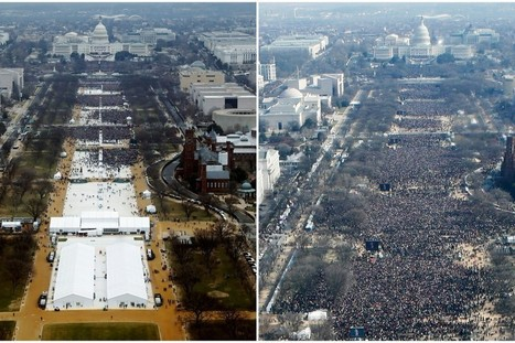 Trump's Press Secretary Falsely Claims: 'Largest Audience Ever to Witness an Inauguration, Period' | Welfare, Disability, Politics and People's Right's | Scoop.it
