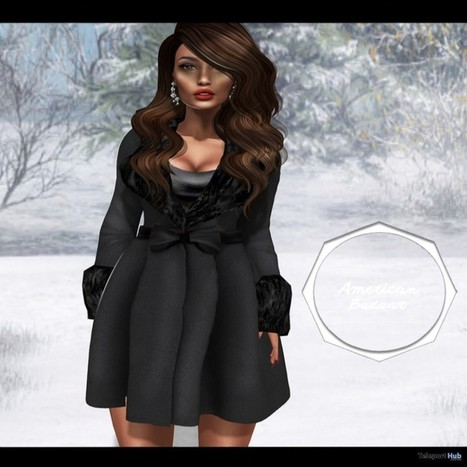 Mademoiselle Coat Group Gift by AMERICAN BAZAAR | Teleport Hub - Second Life Freebies | Second Life Freebies | Scoop.it