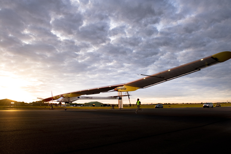 Solar Impulse gets funding boost for round-the-world plan | Solar Energy projects & Energy Efficiency | Scoop.it