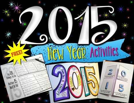 New Year Writing & Goals Activities for 2015 - Free | Common Core Resources for ELA Teachers | Scoop.it