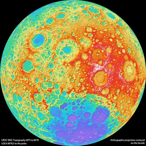 » Astronomers Make High-Resolution Topographical Map of Moon | Geotechnobabble | Scoop.it