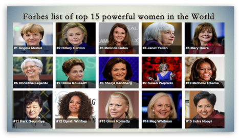 powerful women in the world Not just the stronger sex can be successful in life- this is proved by these woman who are declared to be the most powerful women in the world's history.