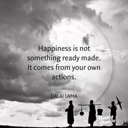Happiness | Quote for Thought | Scoop.it