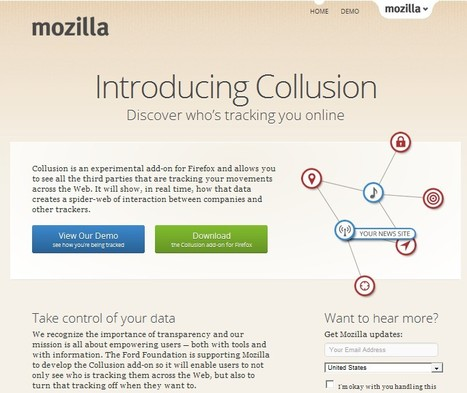 Collusion: Third parties that are tracking your movements across the Web | 21st Century Tools for Teaching-People and Learners | Scoop.it