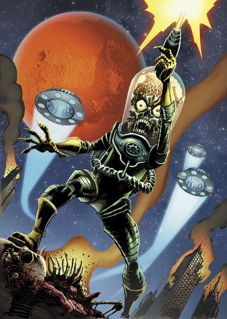 Mars Attacks At IDW In June by John Layman and John McCrea | Comic Books | Scoop.it