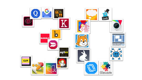Librarian Approved: 30 Ed-Tech Apps to Inspire Creativity and Creation | Go Go Learning | Scoop.it