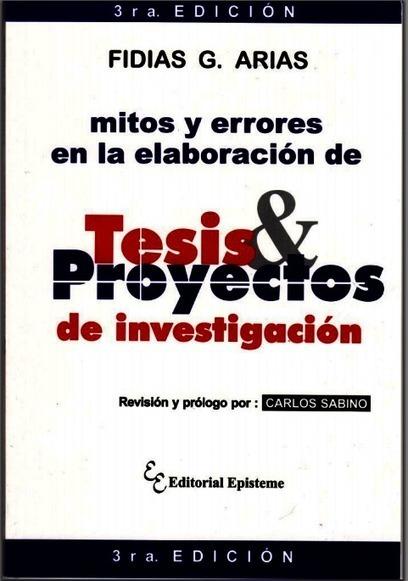 Libro: Mitos y errores en la elaboración de Tesis y Proyectos de Investigación | Investigación en educación matemática | Scoop.it
