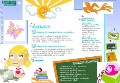 Biblioteca Escolar Digital Infantil | Tic en aula preecolar | Scoop.it