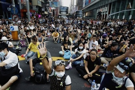 Hong Kong protest draws biggest crowds yet on holiday celebrating Communist Party | APHuG Political | Scoop.it