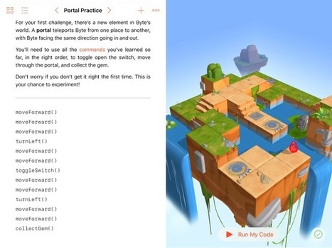 Learn How to Code on your iPad with Swift Playgrounds | iPad classroom | Scoop.it