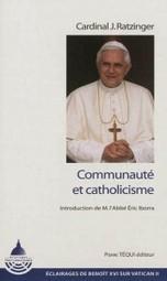 Communauté et catholicisme, Cardinal Joseph Ratzinger   Vatican II : Les 50 ans   Scoop.it
