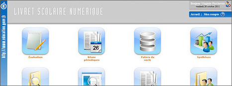 LSN - Livret Scolaire Numérique | E-apprentissage | Scoop.it