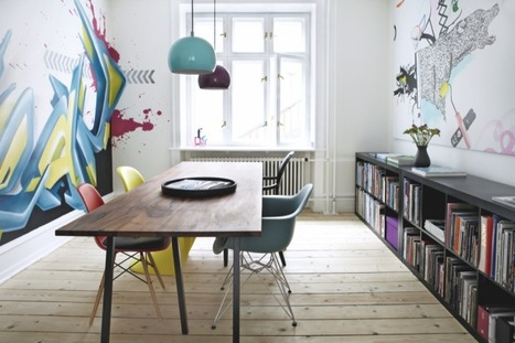 Going Quirky: Graffiti In Interiors | Interior ...
