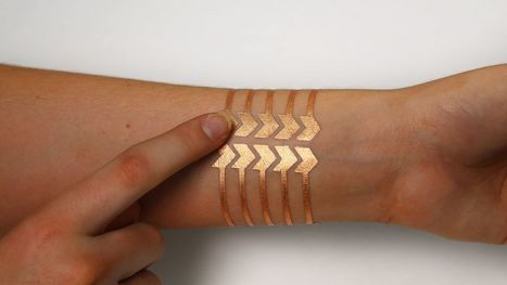 MIT and Microsoft Research made a 'smart' tattoo that remotely controls your phone | Smart devices and technology solutions | Scoop.it