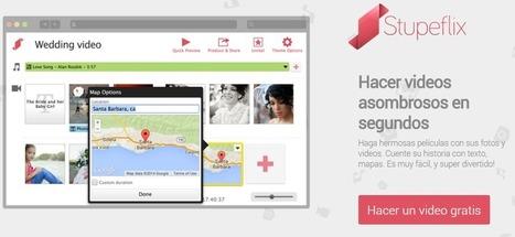 Realiza rápidamente un vídeo On line con Stupeflix | Pedalogica: educación y TIC | Scoop.it