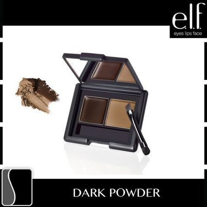 6beb0234717 Reviews this e.l.f. Studio Eyebrow Kit DARK Eye Brow Makeup Brush Mirror  Girly ELF Fun Sexy