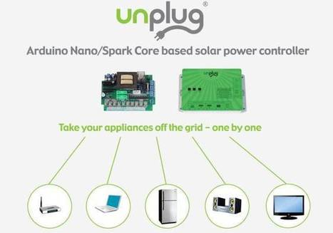 Arduino based solar power controller to take home appliances off grid | Green Energy Technologies & Development | Scoop.it