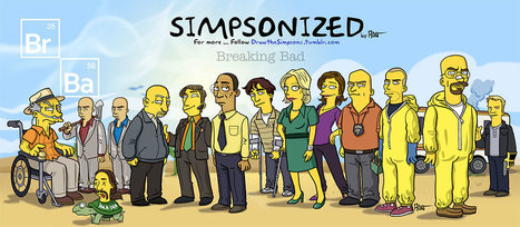 Breaking Bad simpsonisé par Adrien | The simpsons | Scoop.it