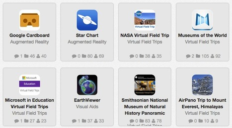 The Virtual Reality Tools Shelf | edshelf | Transformational Teaching and Technology | Scoop.it