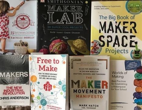 Books for a Makerspace - TinkeringChild | idevices for special needs | Scoop.it
