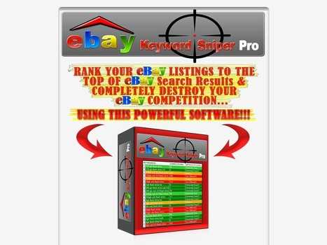 Ebay keyword sniper pro powerful ebay seo sof ebay keyword sniper pro powerful ebay seo software review download malvernweather Image collections