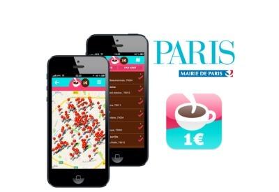 Un application pour géolocaliser les cafés à1€ | Communication Agroalimentaire | Scoop.it