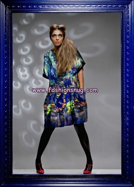 Khaadi Khaas Summer Digital Print Collection 2013 | Fashion Blog | Scoop.it