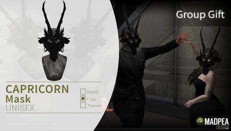 Capricorn Zodiac Group Gift by MadPea | Teleport Hub - Second Life Freebies | Second Life Freebies | Scoop.it