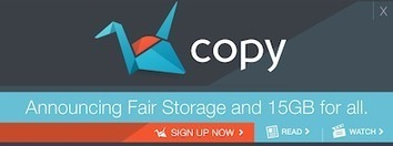 15 GB of Free Cloud Storage Space From Copy. | DSLR video and Photography | Scoop.it
