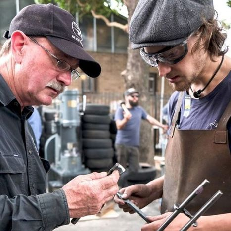 Sydney workshop helping bring back the blacksmith | Maker Stuff | Scoop.it