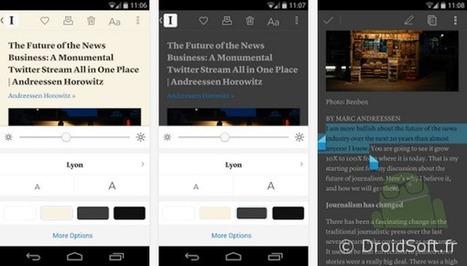 (pour stocker et lire les articles) Instapaper Android passe à gratuit : bon plan !   François MAGNAN  Formateur Consultant   Scoop.it