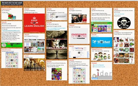 The best site I've ever used! | Padlet | Great ESL sites for teachers | Scoop.it