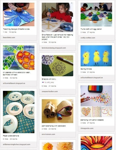 20 Great Pinterest Boards for Art Teachers ~ Educational Technology and Mobile Learning | Continuing Professional Development - CCMS | Scoop.it