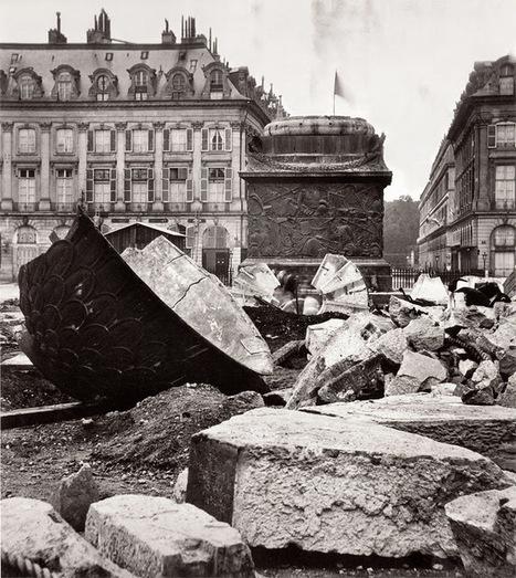 1871 - La Colonne Vendôme abattue | GenealoNet | Scoop.it