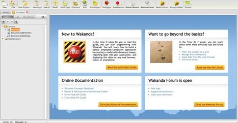 Wakanda Doc Center : Creating Our First Project | Wakanda Beginner | Scoop.it