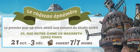 Un pop-up store Ghibli ouvre à Paris   R... 0235acce6ecb