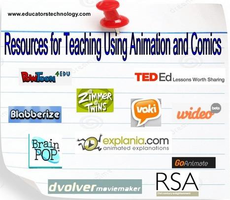 40 + Recursos para la Enseñanza Usando Animación y Comics Tecnología Educativa y Aprendizaje Móvil ~ | Herramientas web 2.0 | Scoop.it