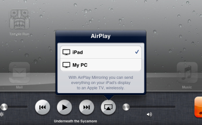 An Educator's Guide to AirPlay on iPads andMacs | #edpad | Scoop.it