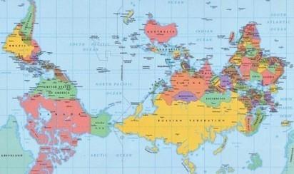Top 27 des cartes pour voir le monde autrement | Revue de tweets | Scoop.it
