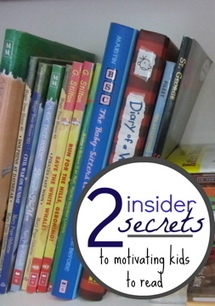 top 2 insider secrets for motivating your kids to read - teach mama | Creating Readers & Writers - Tips for Parents | Scoop.it