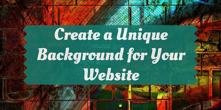 Create a Unique Website Background – RockTheDream.co | ❤ Social Media Art ❤ | Scoop.it